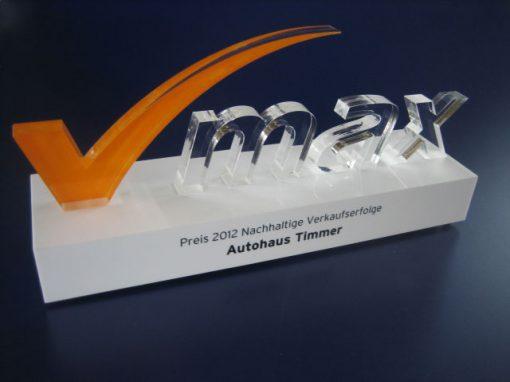 Auszeichnung – VW Autohaus