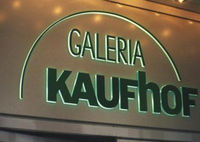 Galeriea Kaufhof Außenwerbung, Hamburg, Berlin, Düsseldorf, Frankfurt, Hannover