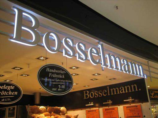 Leuchtbuchstaben – Bosselmann