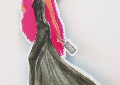 Pappaufsteller im Modebereich