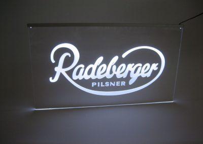 Radeberger Pilsner Leuchtschild