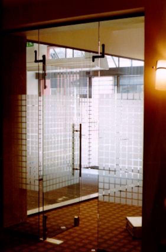 Tür dreiteilig mit Sichtschutz | PHIL-DESIGN