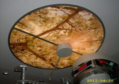 Deckenlicht mit Bild
