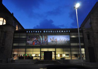 Edelstahlbuchstaben mit LED-Beleuchtung Kestner Gesellschaft Hannover