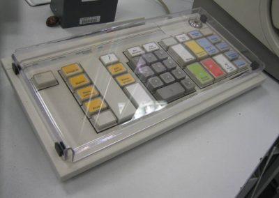 Individuell angepasste Tastaturabdeckung