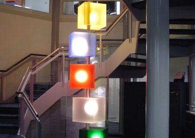 Lichtobjekt Sparkasse Hannover