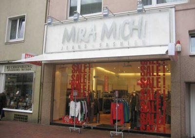 Beschriftung Mira Michi Hannover