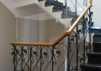 Treppenhausverkleidung