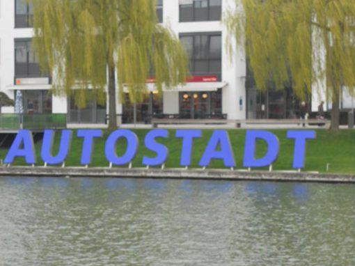 Buchstaben – Autostadt Wolfsburg